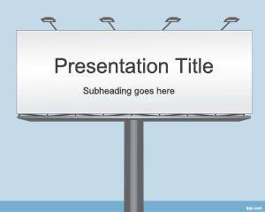 Billboard PowerPoint Template