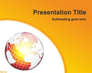 Template cambiamenti climatici PowerPoint