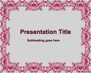 Old Style PowerPoint Template