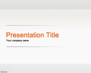 Line PowerPoint Template