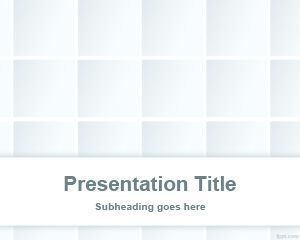 Gradient Tile PowerPoint Template