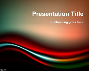 Black & Red PowerPoint Template