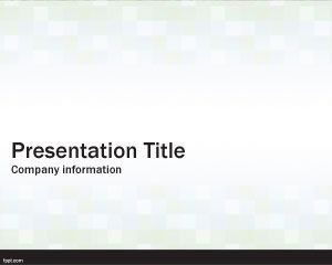 Simple Cubes PowerPoint Template
