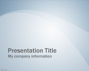 Azul PowerPoint Slide Professional