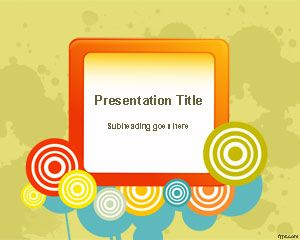 Color Wheel Powerpoint Template Powerpoint Templates Free Download