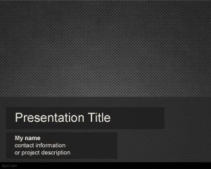 Metalice Powerpoint Template