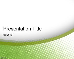 green elegance powerpoint template powerpoint templates free download