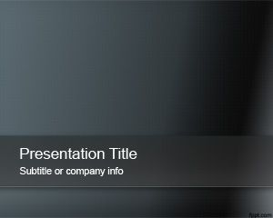 Dark Abstract Powerpoint Template Powerpoint Templates Free Download