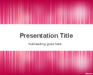 Pink Noise PowerPoint Template