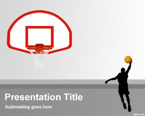 Basketball Background for PowerPoint