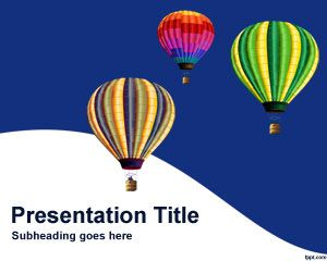 Hot Air Balloons PowerPoint Template