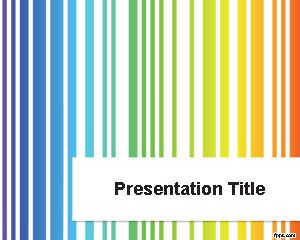 Colored Lines PowerPoint Template