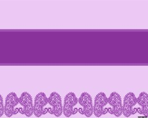 Template Violet Paisleys PowerPoint
