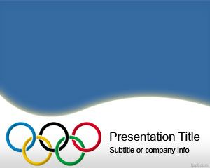 Olympic Rings PowerPoint Template