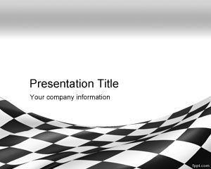 Szachownica PowerPoint Template