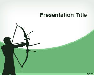 Archery PowerPoint Template