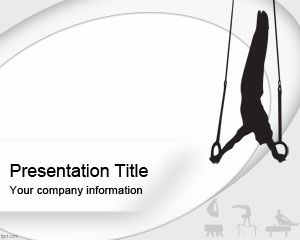Olympic Gymnastics PowerPoint Template