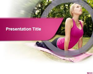 Stretching PowerPoint Template
