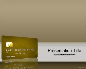 Credit Card Rating PowerPoint Template