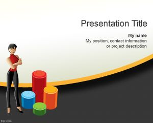 Women Business Plan PowerPoint Template