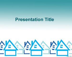 Housing Finance PowerPoint Template