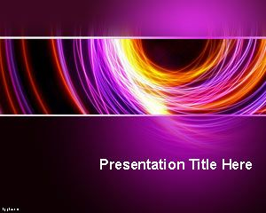 Abstracție PowerPoint Template