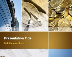 Template bisnis Collage PowerPoint