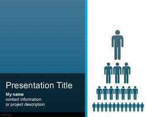 Organization Structure PowerPoint Template