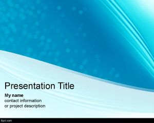 Clean Futuristic PowerPoint Template