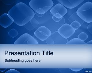 Blue Delight PowerPoint Template