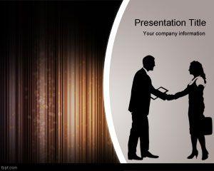 Negosiasi Penjualan Strategi PowerPoint Template PowerPoint Template Free  Download