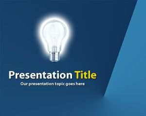 Proyektor PowerPoint Template