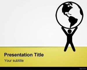 Environmental Issues PowerPoint Template