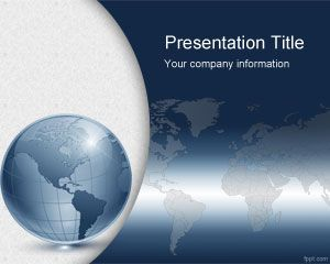 Virtual World PowerPoint Template