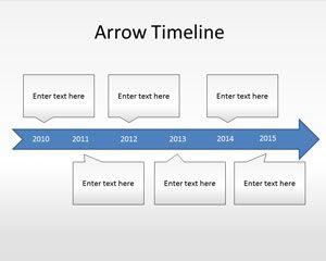 Pfeil Timeline Diagramm Powerpoint Vorlage Powerpoint Vorlagen Kostenloser Download