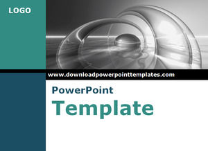 3 D water waves Powerpoint Templates