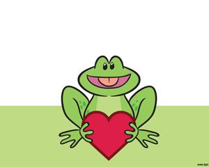Frog Powerpoint Template