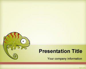 Chameleon PowerPoint Template
