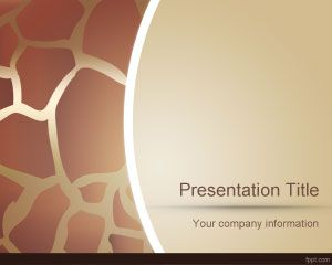 Animal PowerPoint Skin Template