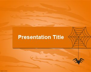 Web & Spider PowerPoint Template