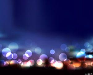 Blur Lights PowerPoint Template