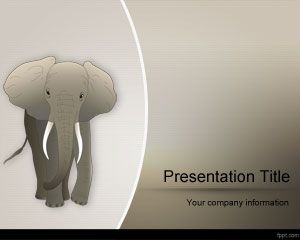 Template do elefante africano powerpoint powerpoint modelos grtis template do elefante africano powerpoint toneelgroepblik Image collections