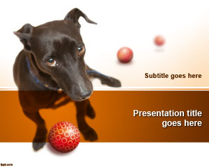 Mengadopsi Template Dog PowerPoint