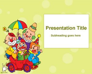Kids Party PowerPoint Template