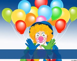 Circus Clown Powerpoint