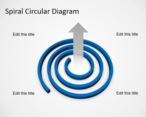 Spiral Diagram Template for PowerPoint