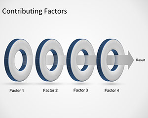 Contributing Factors Slide Design for PowerPoint