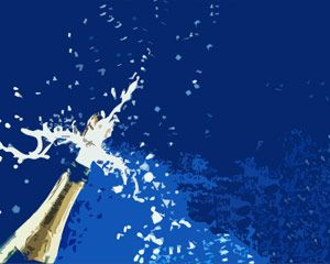 Champagne for celebration PPT