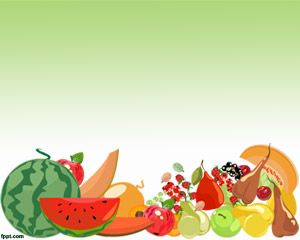 Fruit Pictures in PowerPoint Template