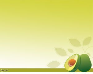 Avocado PowerPoint Template